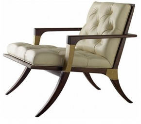 Athens Lounge Chair from the Thomas Pheasant Collection