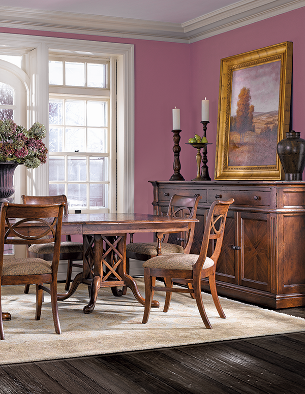 Stickley in Radiant Orchid